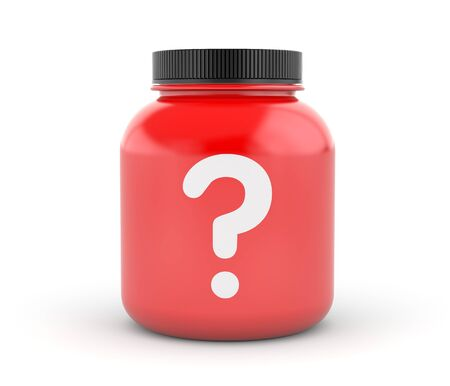 questionable request: Cans of protein or gainer powder with question