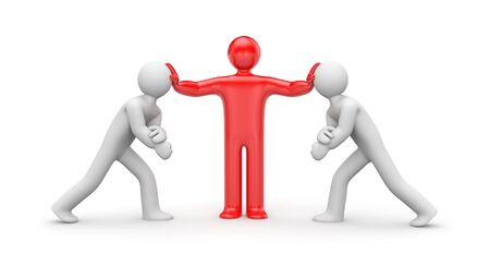 adversary: Intermediary in the conflict decision. Business metaphor