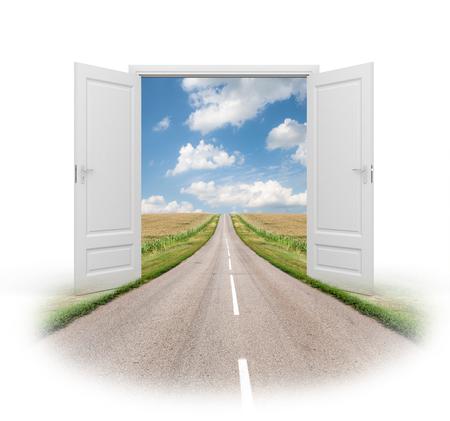 manejar: Abrió la puerta a una nueva realidad. Camino al éxito