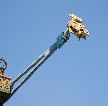 attraction: Attraction at the Tivoli gardens - Copenhagen