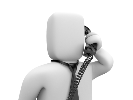 negotiator: Business is calling. Business metaphor