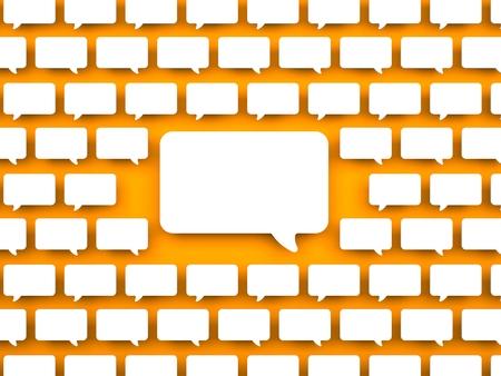 communication concept: Communication concept. Conceptual 3d background