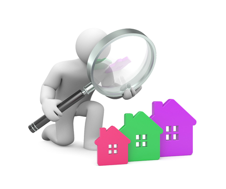 new house: In the search for a new house