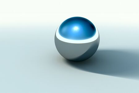 3D Chrome Ball