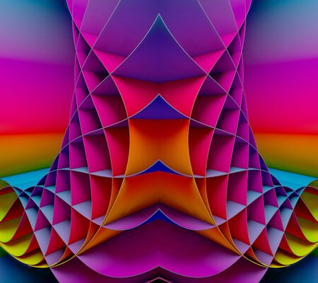 3D Colorful Background photo