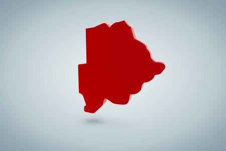 Botswana Map photo