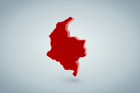 Colombia Map photo