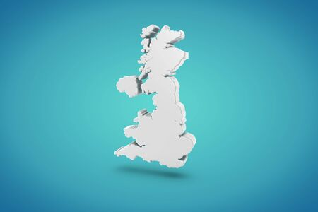 England Map photo
