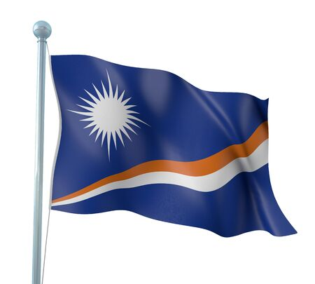 marshall: Marshall Islands Flag Detail Render