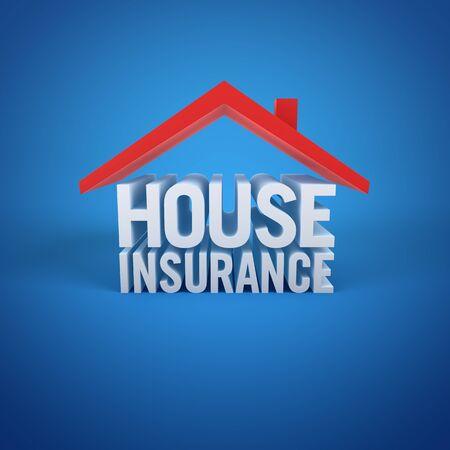 property development: House Insurance Stock Photo
