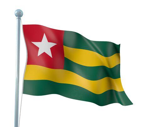 togo: Togo Flag Detail Render