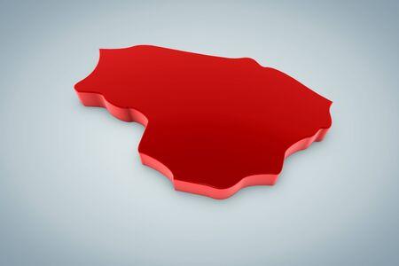 Lithuania Map  photo