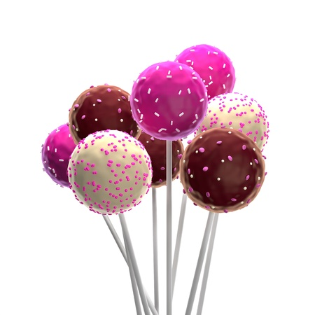 candy hearts: Pop Cakes