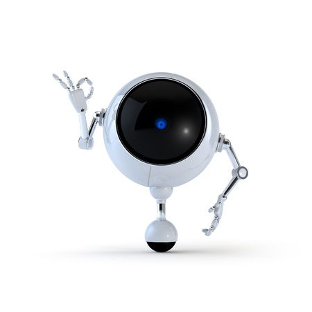 funny robot: Robot Stock Photo