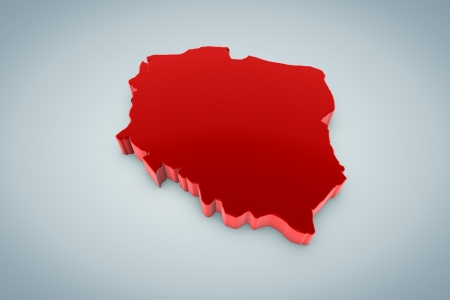 Poland Map photo