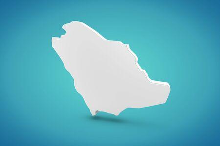 southwest asia: Saudi Arabia Map