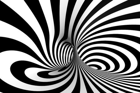 Spirale 3D Banque d'images
