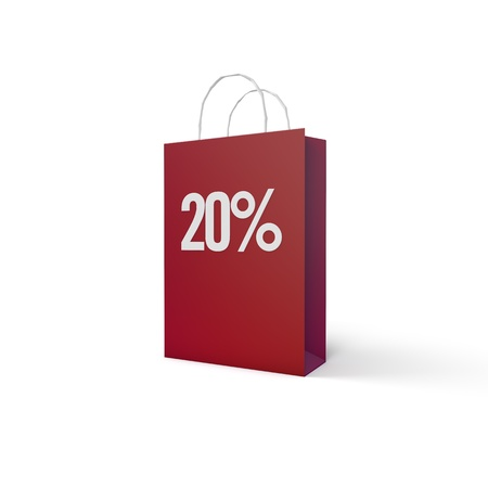 top 50 icon: Shopping Bag Stock Photo