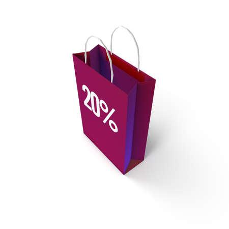 top 50 icon: Shopping Bag Stock Photo