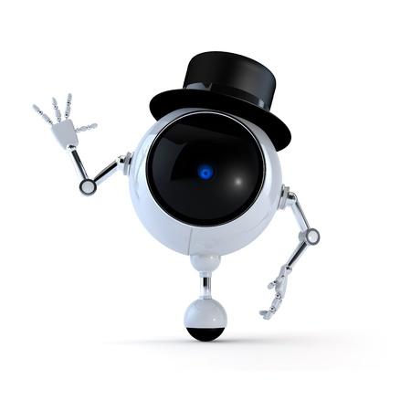 Politic Robot Stock Photo
