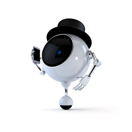 Politic Robot Stock Photo - 15533691