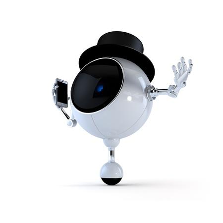 collectible: Politic Robot Stock Photo