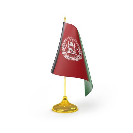 afghanistan': Afghanistan Flag Detail Render
