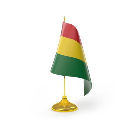 Bandera de Bolivia Detalle Render photo