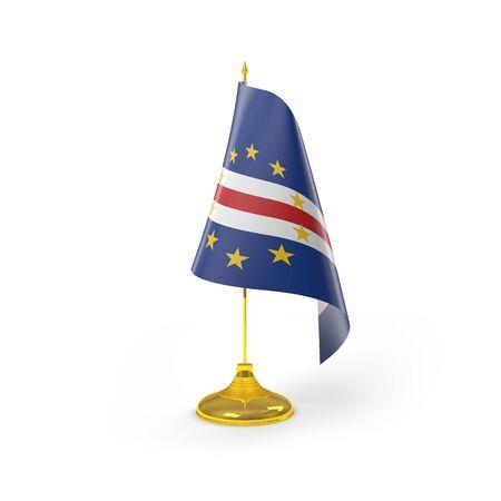 cape verde flag: Cape Verde Flag Detail Render
