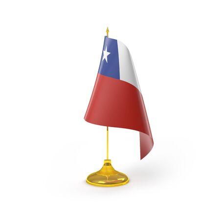 bandera chile: Bandera de Chile Detalle Render