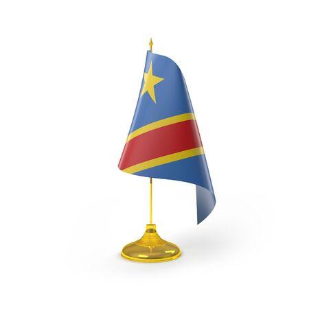 democratic: Democratic Congo Flag Detail Render