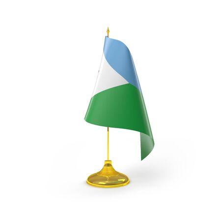 djibouti: Djibouti Flag Detail Render