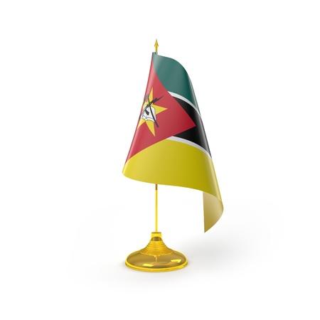 Rendu Mozambique D�tail Drapeau
