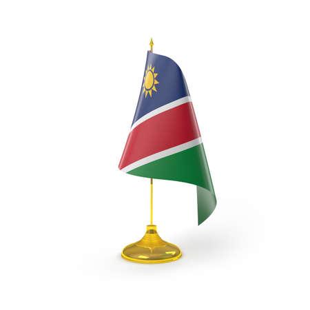 namibia: Namibia Flag Detail Render