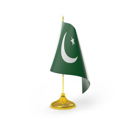 pakistan flag: Pakistan Flag Detail Render
