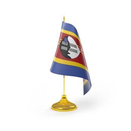 Rendu Swaziland D�tail Drapeau