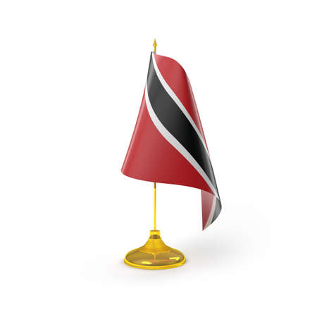 Trinidad and Tobago Flag Detail Render  photo