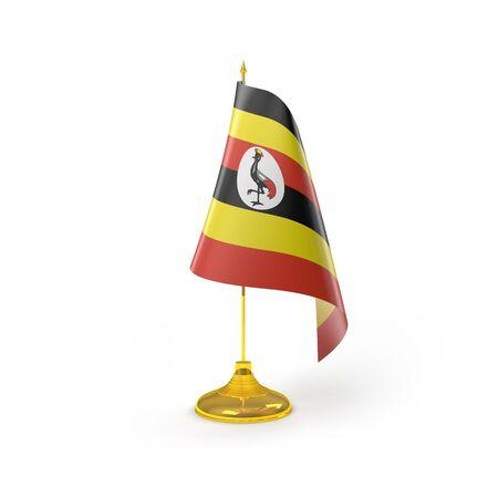 uganda: Uganda Flag Detail Render