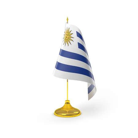 bandera de uruguay: Bandera de Uruguay Detalle Render