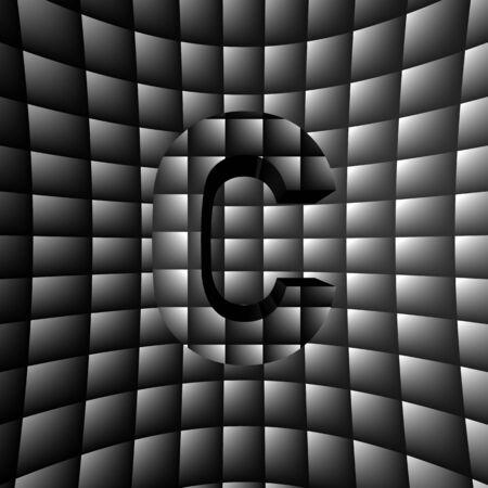 3D Illusion ABC Stock Photo - 16787380