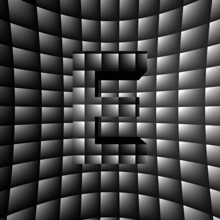3D Illusion ABC Stock Photo - 16787373