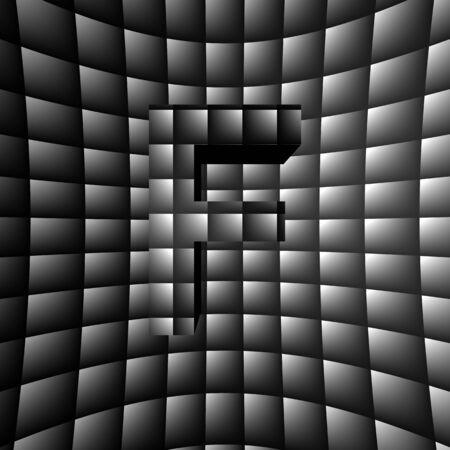 3D Illusion ABC Stock Photo - 16787375