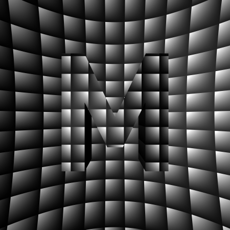 3D Illusion ABC photo