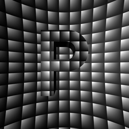 3D Illusion ABC Stock Photo - 16787381
