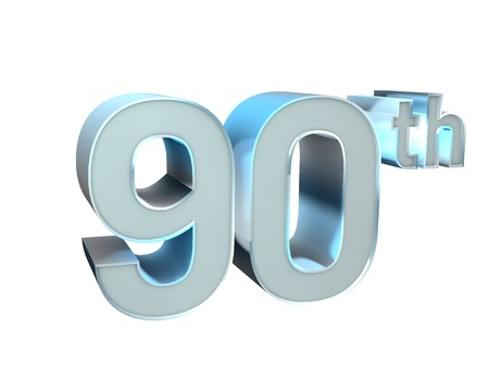 90th: Silver Character Collection  90th anniversary