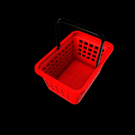 Shopping Basket Stock Photo - 16816201