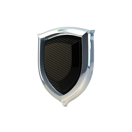 3D Illustration of Carbon Defence Icon Render on Isolated White Background Stock Illustration - 17671136