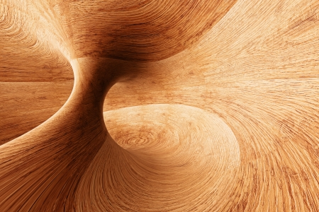 3D Illustration of Abstract Wood Background Texture Design