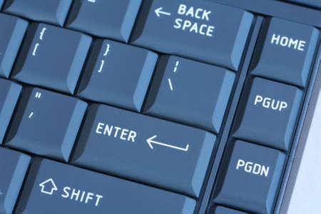 Laptop Keyboard blauw getinte