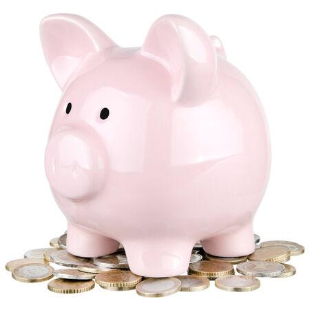 thaler: Piggy bank Stock Photo